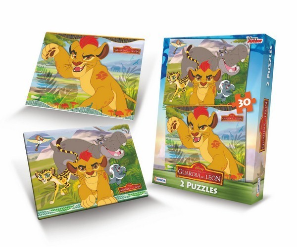 Juguetes Puzzles x2 Lion Guard, al por mayor