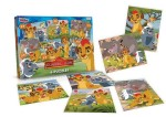 Juguetes Puzzles x6 Lion Guard, al por mayor