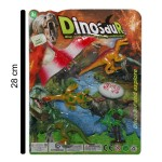 Juguetes Dinosaurios x4, al por mayor